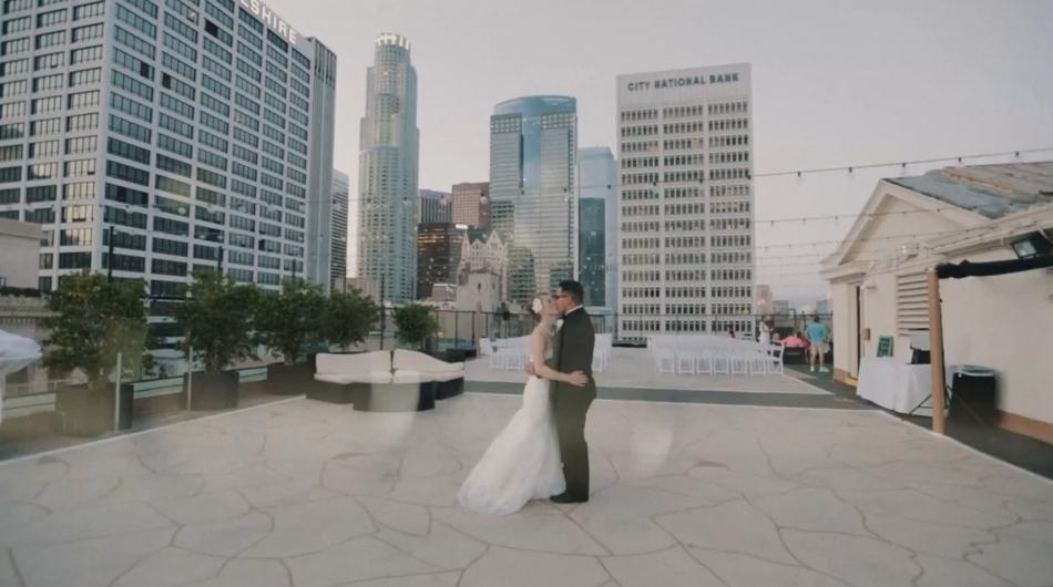 Margy & Bryan Wedding Highlight – LA Athletic Club