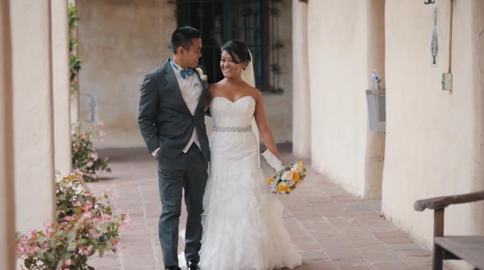 Pam & John Wedding Highlight  – Santa Barbara, CA