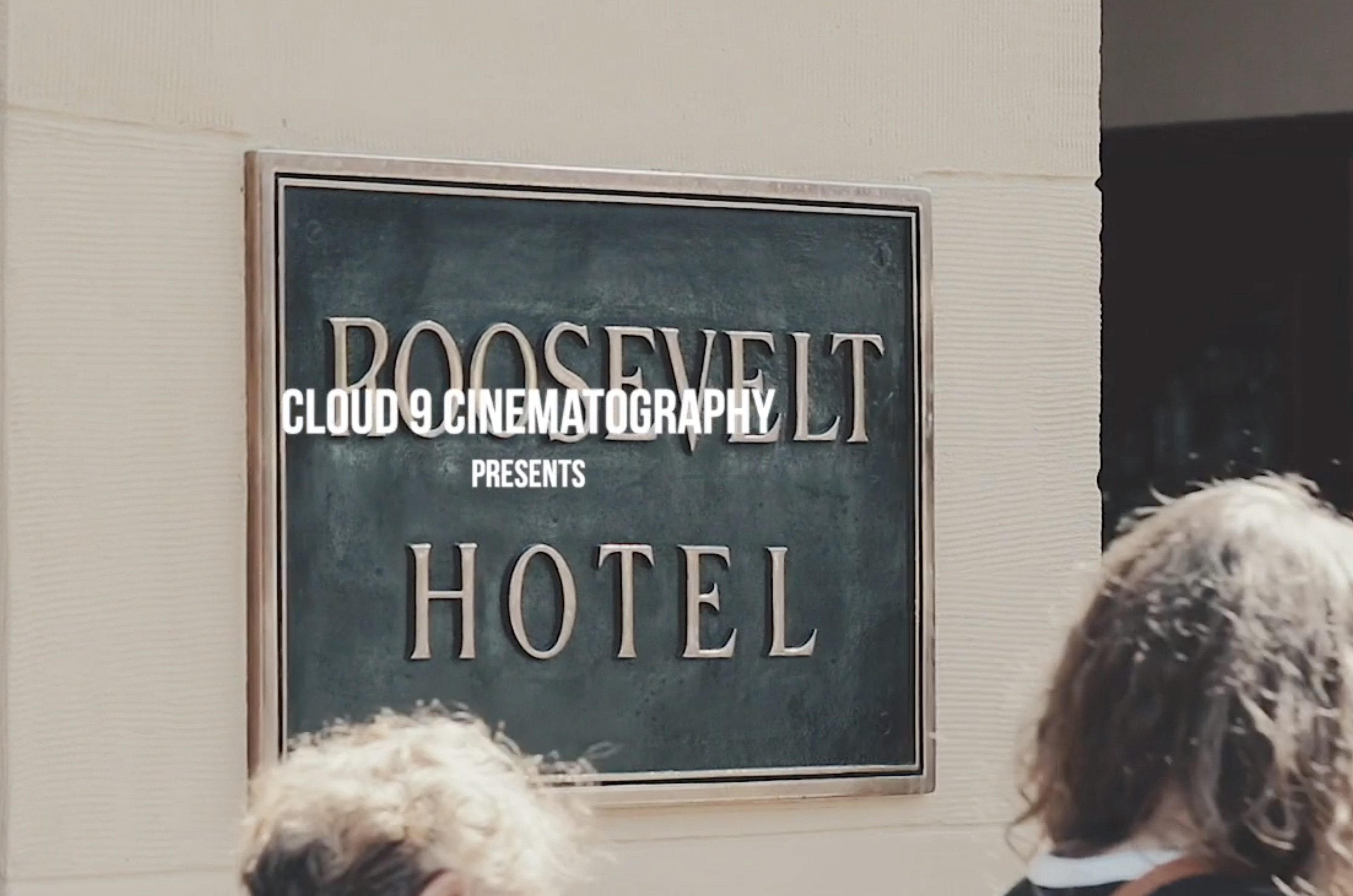 The Hollywood Roosevelt | Sarah  & Gabriel 's sneak peek