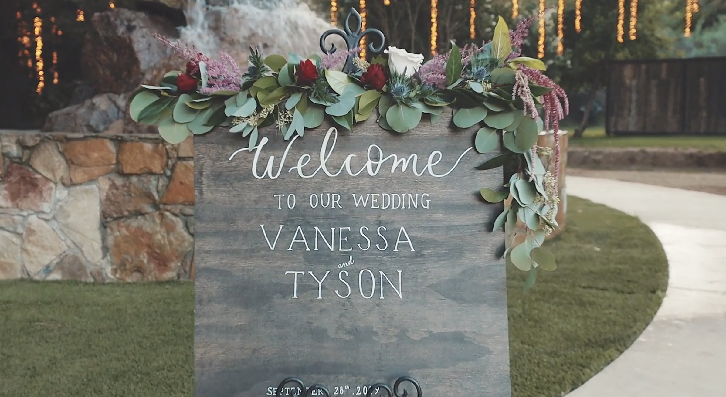Wedding sneak peek | Vanessa + Tyson