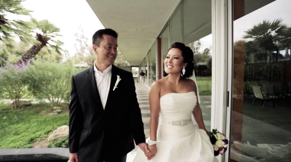 Elizabeth + Sung Wedding Highlight – Crystal Cathedral