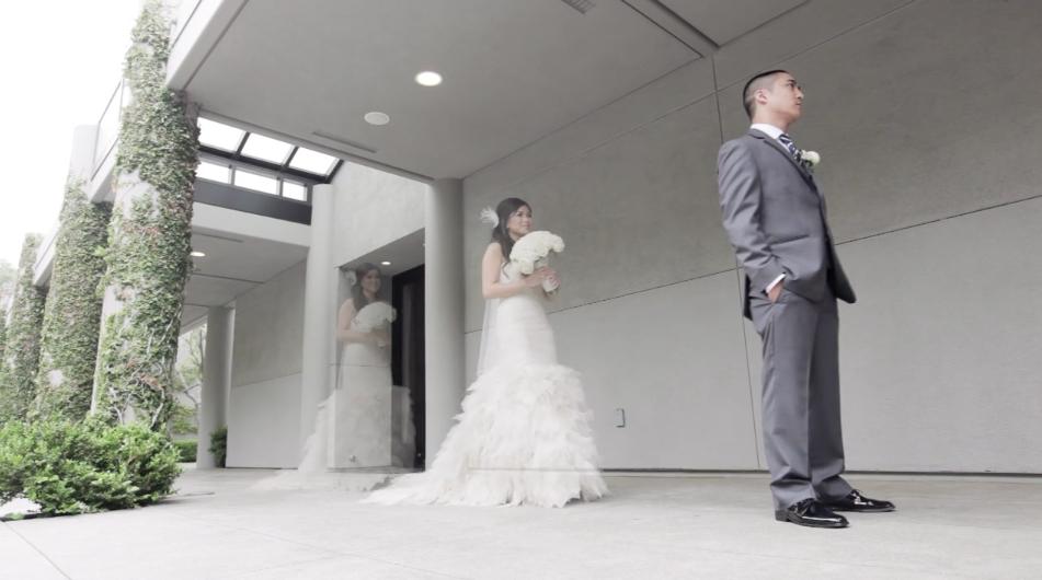 Kathy & Lorenz Wedding Highlight – Skirball Cultural Center