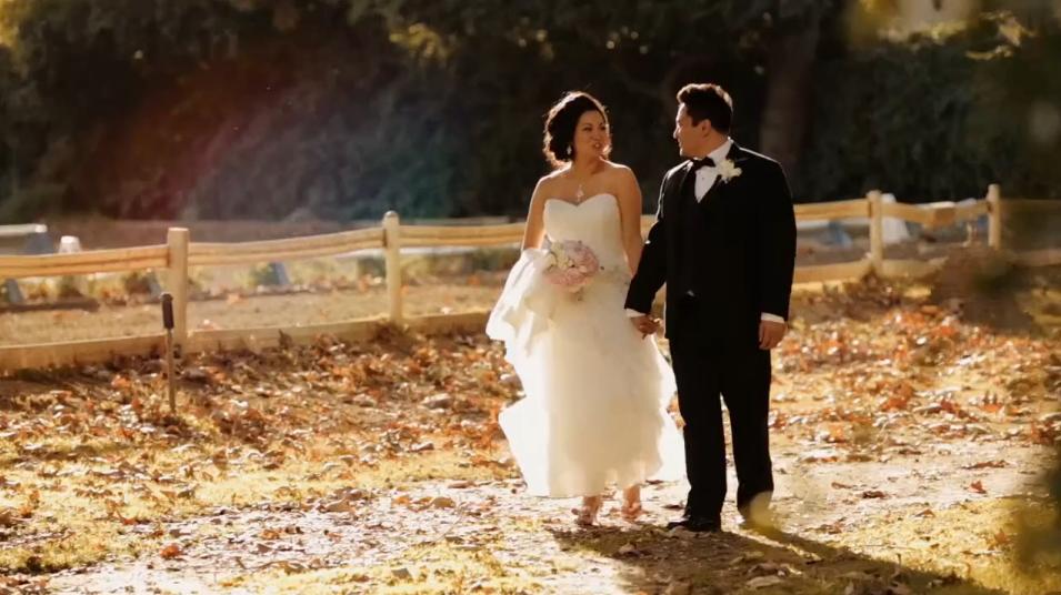 Clara & Mike Wedding Highlight – Calamigos Equestrian, Burbank CA