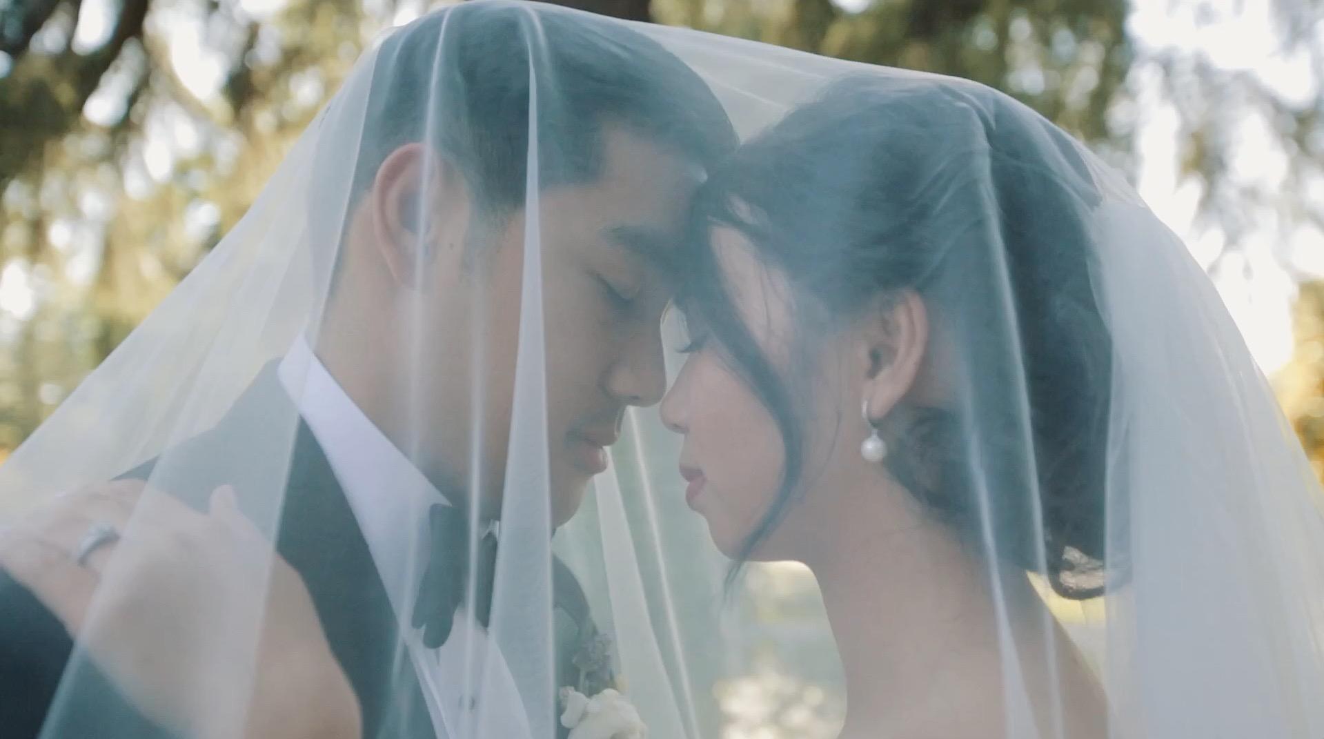 Fresno  Trang  + Ryan Wedding Film