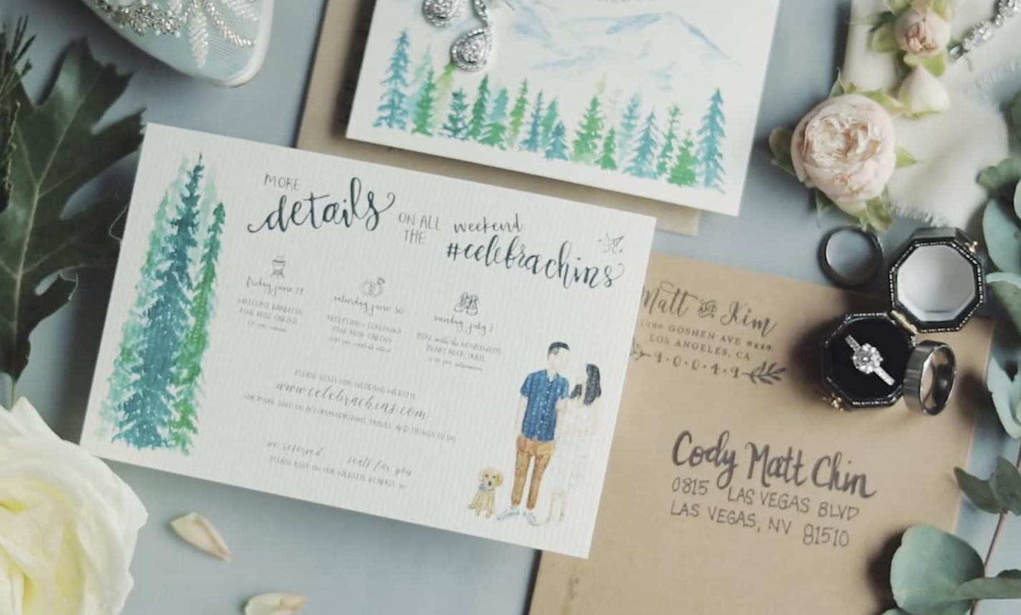 Arrowhead Pine Rose Cabins | Kim+Matt Highlight Film