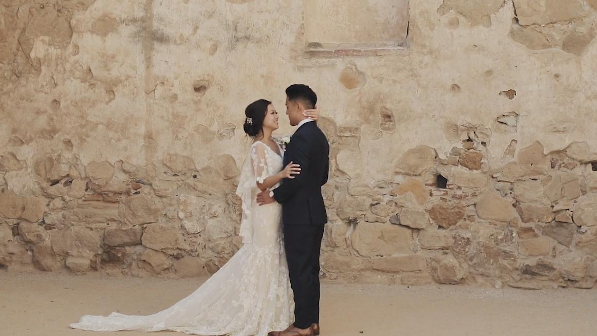 Franciscan Gardens | Vicky + Justin Wedding Film